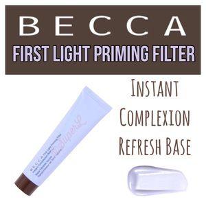 🦖2/$20 Becca First Light Priming Filter Primer